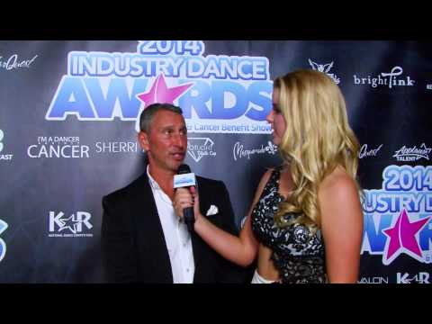 Adam Shankman on the 2014 Industry Dance Awards Red Carpet