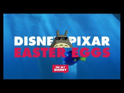 Disney Pixar Easter Egg || Oh My Disney