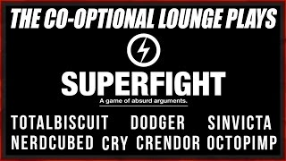 Gambar cover THE CO-OPTIONAL LOUNGE - SUPERFIGHT! [NSFW LANGUAGE]
