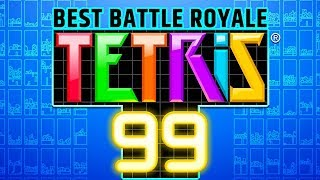 THIS IS THE BEST BATTLE ROYALE \\ TETRIS 99 \\ !hotbean