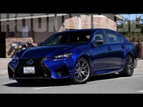 2016 Lexus GS F: Bringing balance to the segment