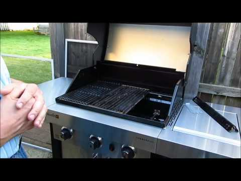 Initial Evaluation of the Char Broil Three Burner TruInfrared Grill