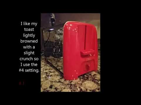 , Hamilton Beach Cool Wall 2-Slice Toaster, Red (22623)