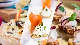 3 Things To Do With: FESTIVE PARTY FOOD
