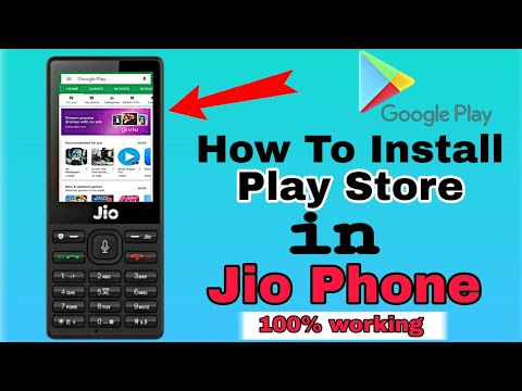 play store app download install in jio phone