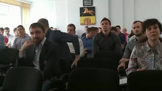 """Встреча главы Новокузнецка с игроками ХК """"Металлург"""""""