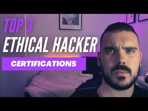 Top 3 certifications for landing a job as an Ethical Hacker