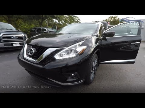 Certified Pre-Owned 2018 Nissan Murano FWD Platinum
