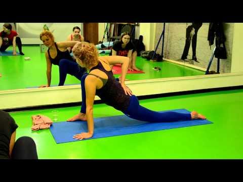 Семинар по йоге для беременных. Работа с комплексом мышц и связок тазобедренного сочленения. Часть 4