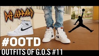 MENS FASHION | JORDAN 1 YIN YANG FEATURED/BAND INSPIRED FIT!! (OUTFITS OF G.O.S. #11 / OOTD)
