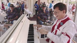 Magic Kingdom Moments - Walt Disney World's Ragtime Piano Player Jim Omohundro - It's a Small World