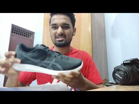 asics shoes unboxing