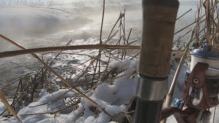 Река унжа рыбалка 2020 зима февраль