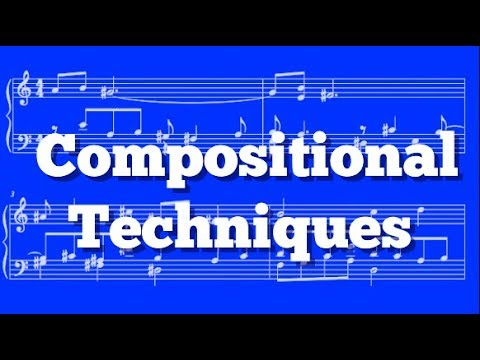 Music Composition - Counterpoint & Combining Multiple Techniques