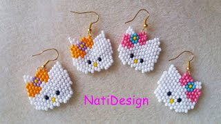 COMO HACER HELLO KITTY A PEYOTE