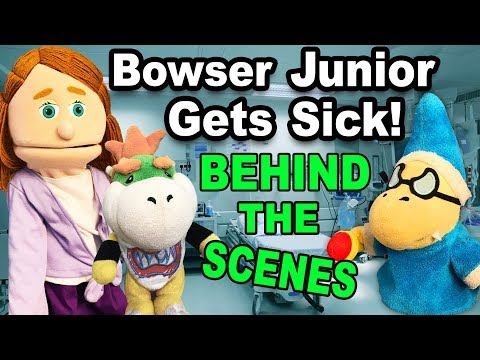 SML Movie: Bowser Jr Gets Sick BTS! (видео)