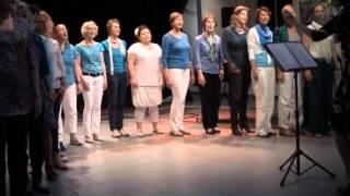 Concert Vak-koor Delfts Blond o.l.v. Iris van der Made op 6-6-2012