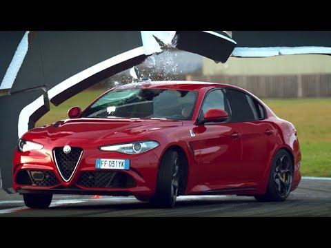 The Alfa Romeo Giulia Wall Challenge | Top Gear Series 24 | BBC