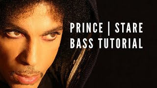 How to play Stare by Prince : Groove Academy Bass Lesson #14