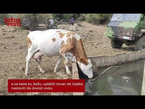 Na Suvoj planini zvanična delegacija i još vode, meštani kažu još nedovoljno za žednu stoku