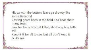 Boyz N da Hood - No Talkin' Lyrics
