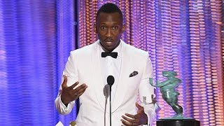 Mahershala Ali Gives Powerful Speech About Acceptance #SAGawards #Moonlight