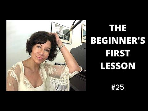 BEGINNER Singing Lessons - LET'S START!