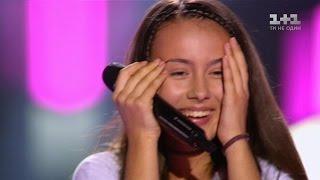 """Иванна Решко  """"Mama knows best"""" – выбор вслепую – Голос. Дети 3 сезон"""