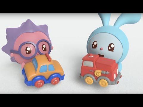 - Малышарики — Машинка (12  серия) Новый развивающий мультик для детей от 0 до 4лет