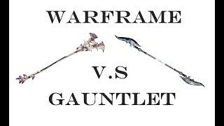 Lesion vs Orthos Prime - Warframe Gauntlet