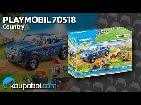 Vidéo PLAYMOBIL Country 70518 : Maréchal-ferrant et véhicule