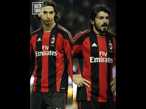 The day Ibrahimović literally put Gattuso in the trash | Oh My Goal