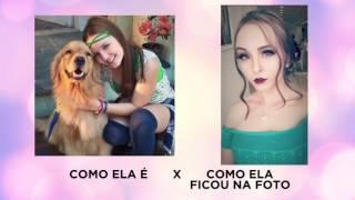 LARISSA MANOELA EXAGERA NO PHOTOSHOP E É CRITICADA