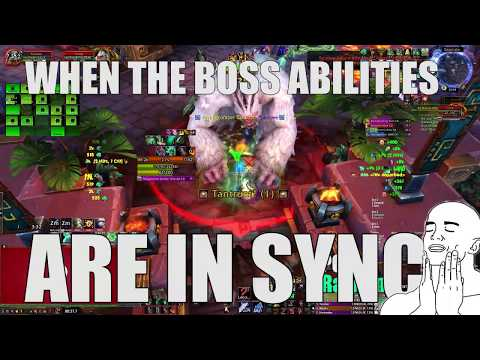 p2bh Video: p2bh vs Battle of Dazar'alor - Grong Mythic