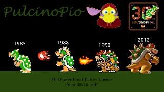 All Bowser Final Battles Themes (1985-2013)