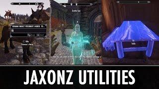 Skyrim Mod: Jaxonz Utilities