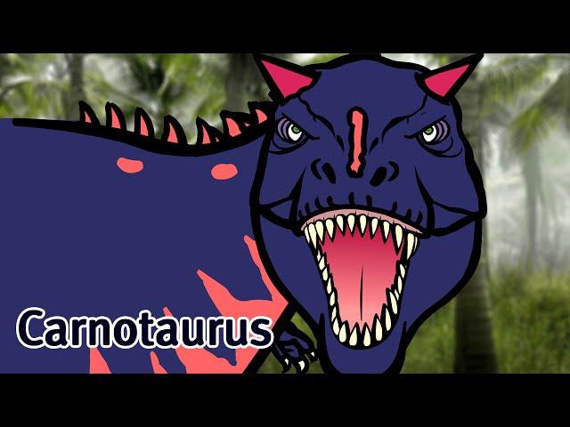 Wymowa wideo od carnotaurus na Angielski