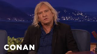That Time Joe Walsh & John Belushi Trashed A Penthouse  - CONAN on TBS