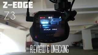 Z-Edge Z3 Dual Dash Camera [ REVIEW & UNBOXING ]