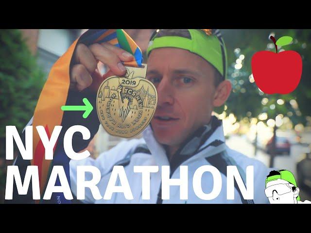 NEW YORK CITY MARATHON 2019 | BIG City Marathon Racing! 🍎