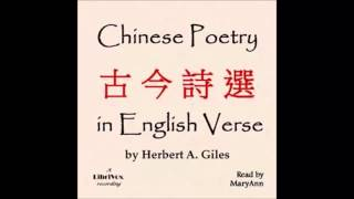Chinese Poetry in English Verse (FULL Audiobook)