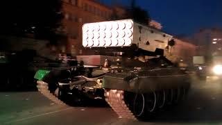 репетиция парада Хабаровск 25 апреля 2018 ролик 2