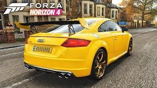 Forza Horizon 4 Audi TTs Simulation - Best Gameplay