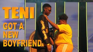 TENI Brings Her Boyfriend On STAGE Perform   Case | Askamaya | Power Ranger | Sugar Mummy AFROprom19