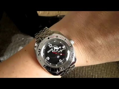 Vostok Amphibian Watch Unboxing from Meranom.com