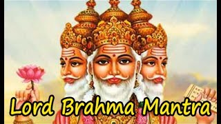 Powerful Lord Brahma Mantra for Peace & Success