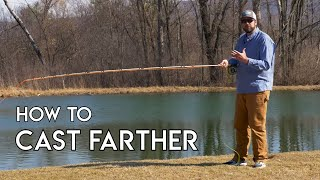 Casting Farther   How to Shoot Fly Line