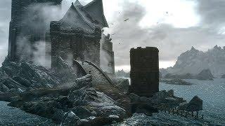 Skyrim - Сюжетная линия Стражи Рассвета - Прохождение # 18  - Исследуем замок Волкихар ...
