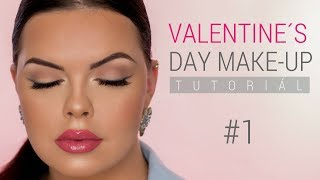 AKO NA VALENTINE´S DAY LOOK Tutorial #1 | Quick & Easy 10 min. Make-up