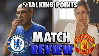 Chelsea 0-2 Manchester United   5 Things That WENT WRONG!    Sophie Reacts